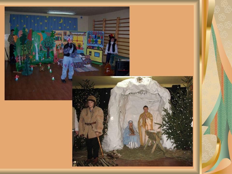 Korzystają również z sali rekreacyjno-sportowej, boiska szkolnego oraz z nowoczesnej pracowni komputerowej i biblioteki multimedialnej.