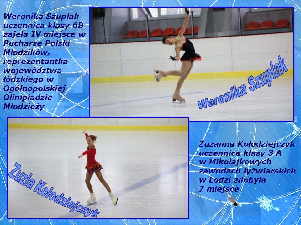 Weronika Szuplak uczennica klasy 6B zajęła IV miejsce w Pucharze Polski Młodzików, reprezentantka województwa łódzkiego w Ogólnopolskiej Olimpiadzie M