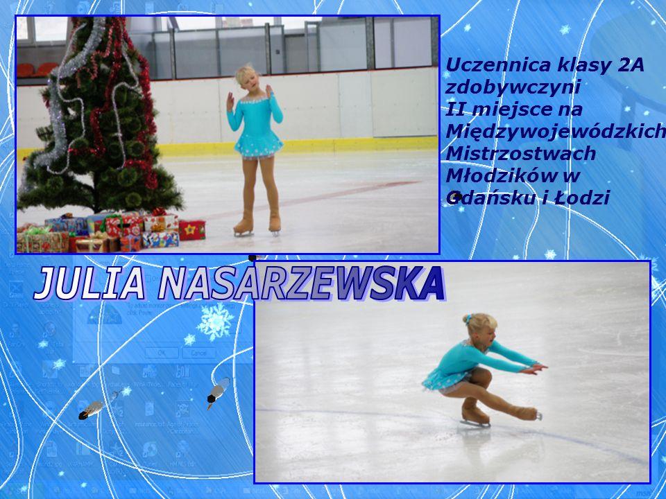 Uczennica klasy 2A zdobywczyni II miejsce na Międzywojewódzkich Mistrzostwach Młodzików w Gdańsku i Łodzi