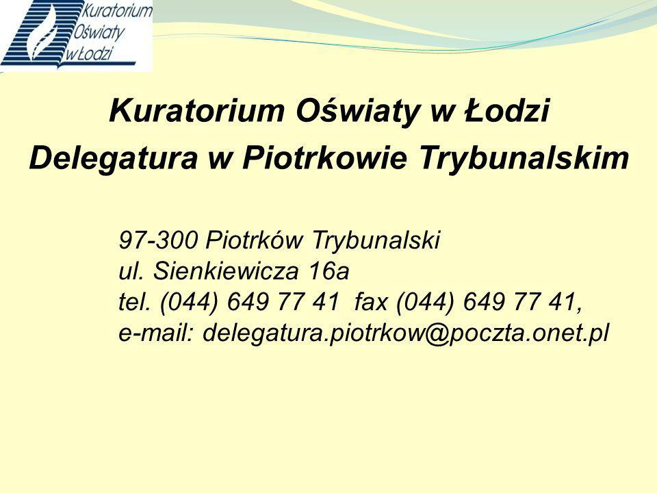 Ważne wydarzenia związane ze wspomaganiem szkół i placówek Konkursy: XVI Ogólnopolski Konkurs Historyczny Losy Żołnierza i dzieje oręża polskiego w latach 1531 - 1683.