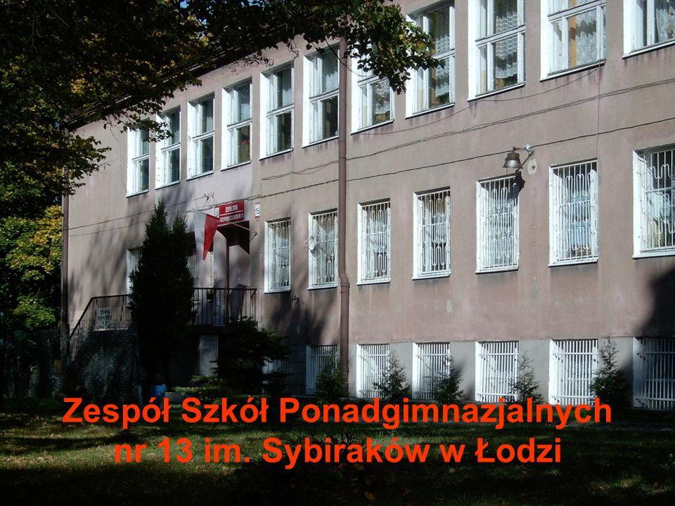 Zespół Szkół Ponadgimnazjalnych nr 13 im. Sybiraków w Łodzi