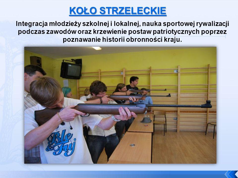 Integracja młodzieży szkolnej i lokalnej, nauka sportowej rywalizacji podczas zawodów oraz krzewienie postaw patriotycznych poprzez poznawanie histori