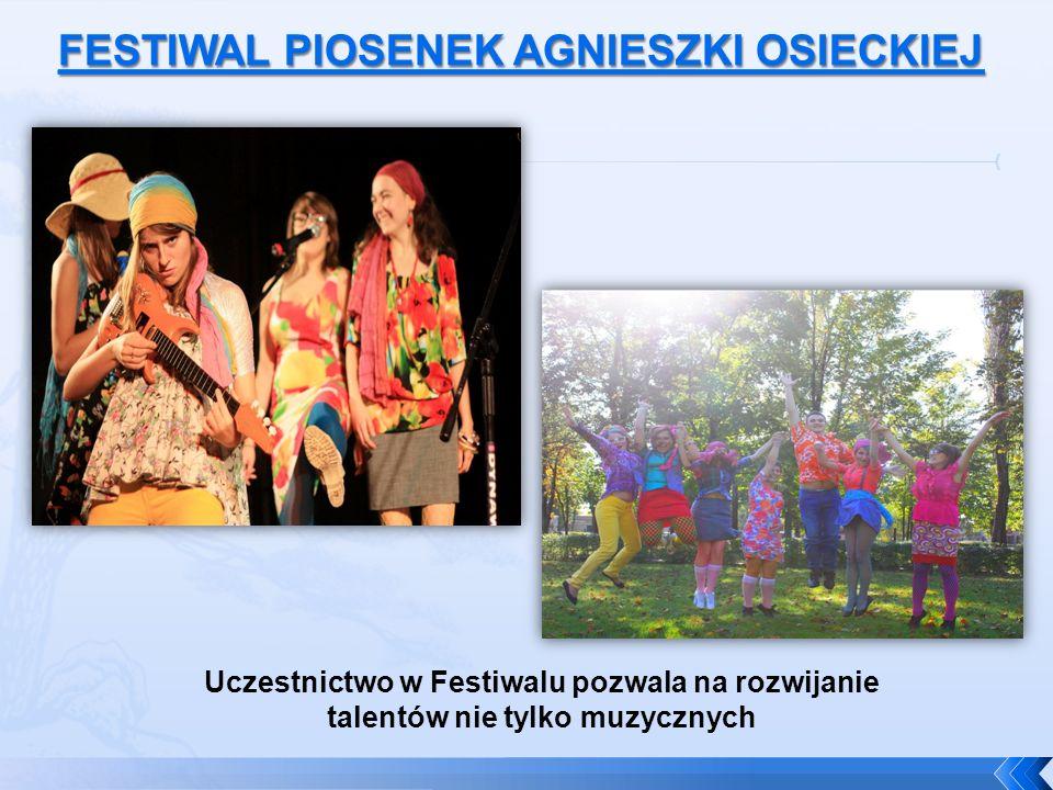 Uczestnictwo w Festiwalu pozwala na rozwijanie talentów nie tylko muzycznych