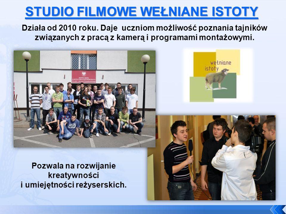 Działa od 2010 roku. Daje uczniom możliwość poznania tajników związanych z pracą z kamerą i programami montażowymi. Pozwala na rozwijanie kreatywności