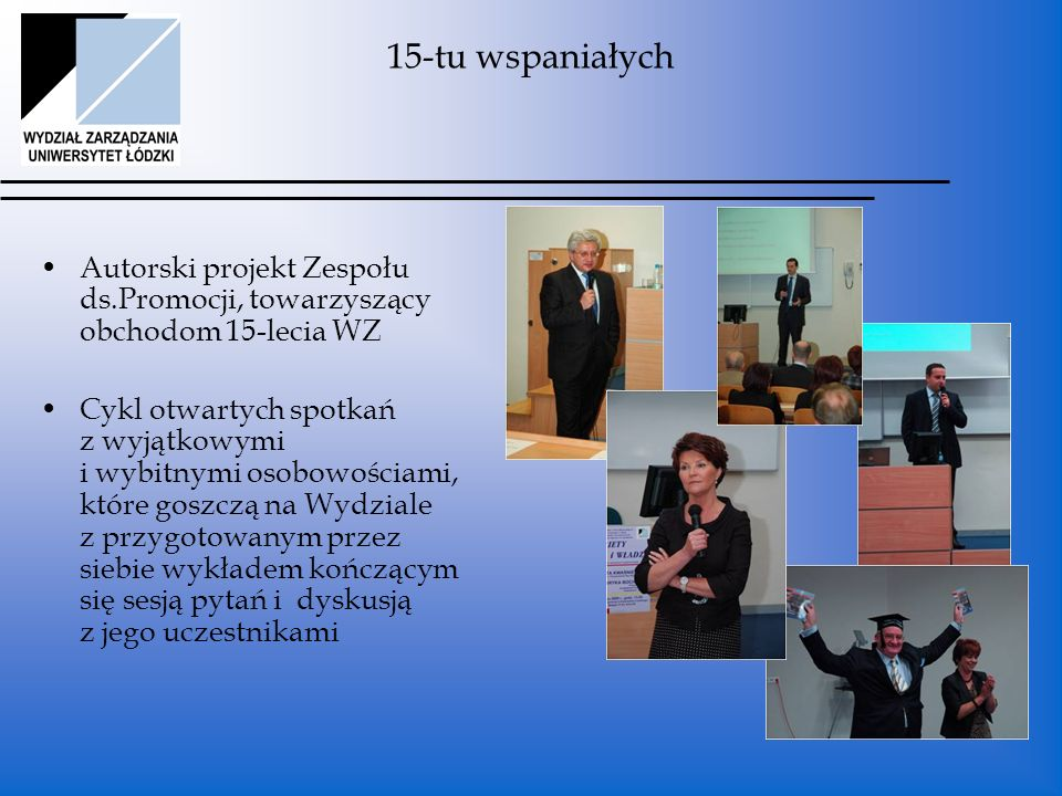 Projekty dodatkowe Spotkanie z Tomaszem Lisem