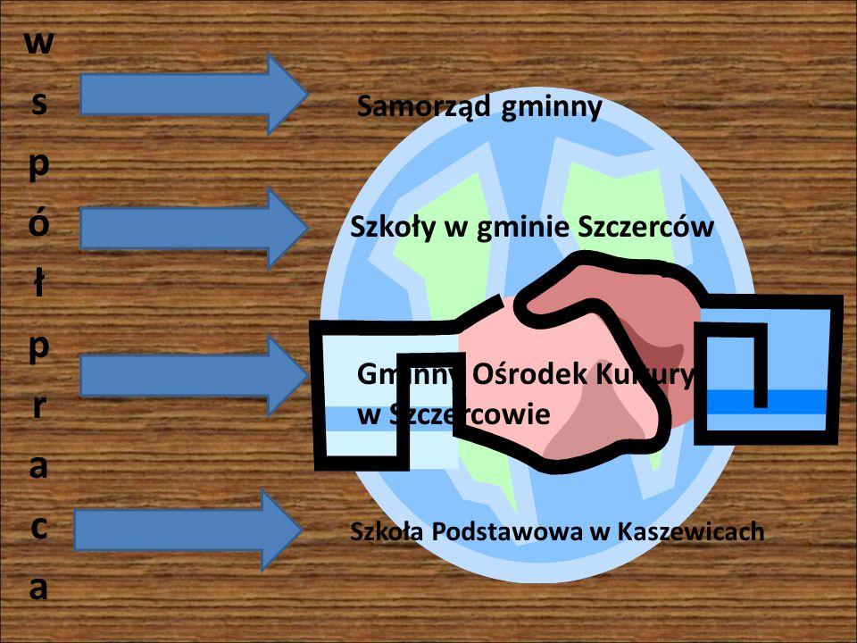 Samorząd gminny Szkoły w gminie Szczerców Szkoła Podstawowa w Kaszewicach Gminny Ośrodek Kultury w Szczercowie