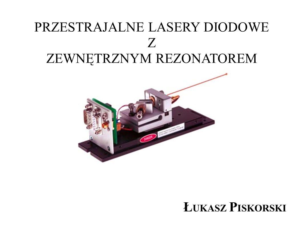 PLAN PREZENTACJI: 1.Dioda laserowa - schemat, zasada działania 2.