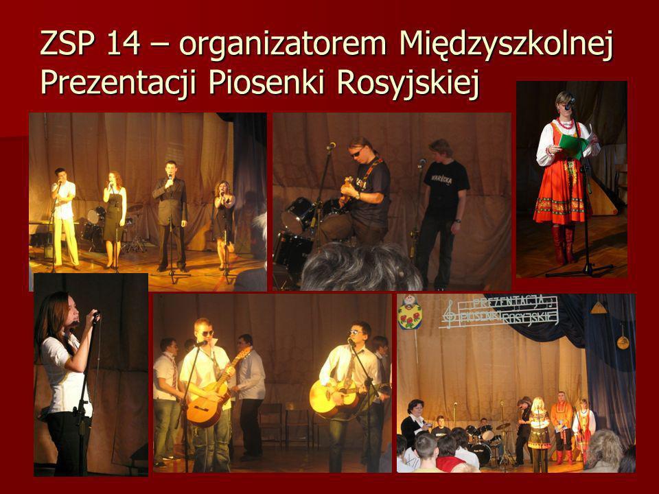 ZSP 14 – organizatorem Międzyszkolnej Prezentacji Piosenki Rosyjskiej