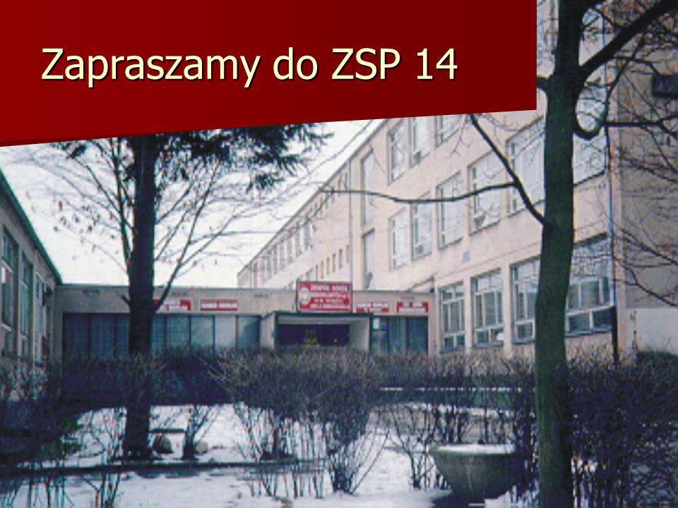 Zapraszamy do ZSP 14