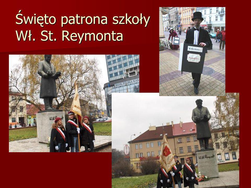 Święto patrona szkoły Wł. St. Reymonta