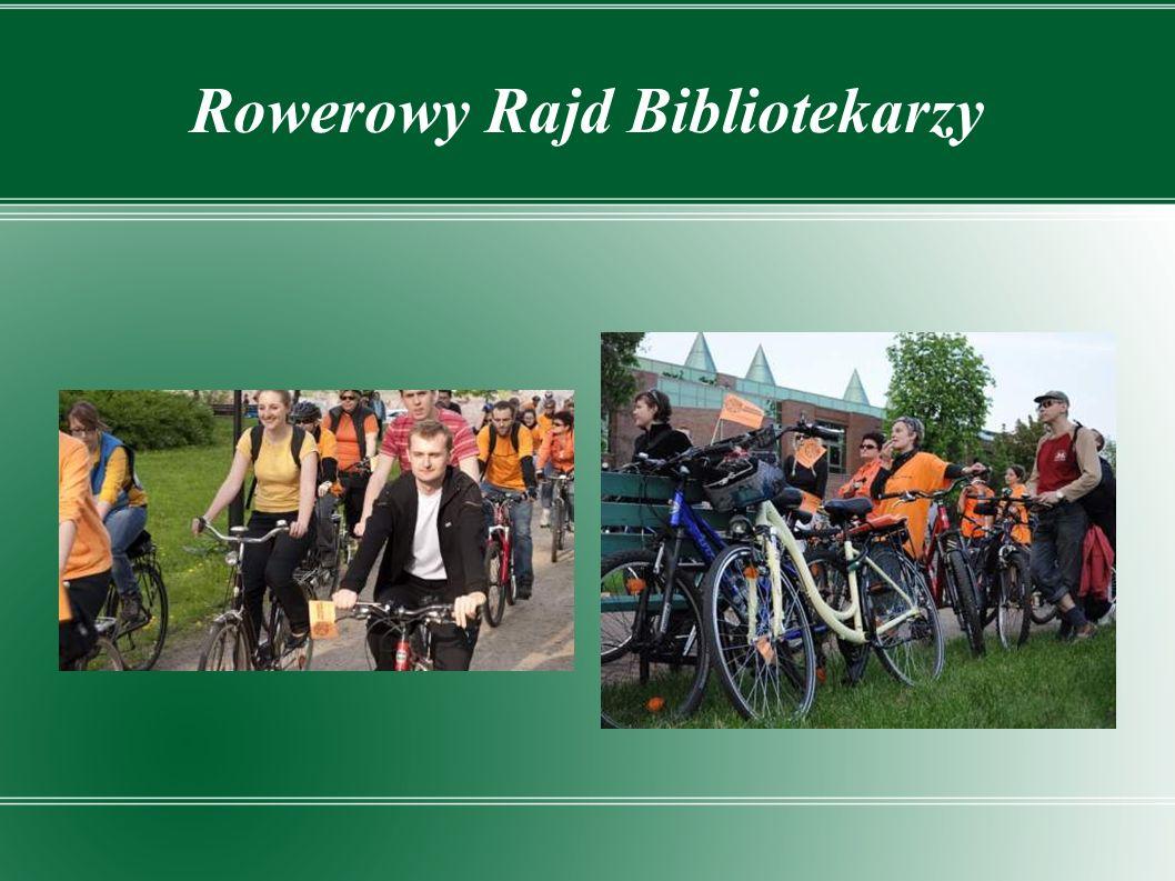 Rowerowy Rajd Bibliotekarzy