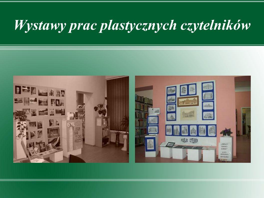 Wystawy prac plastycznych czytelników