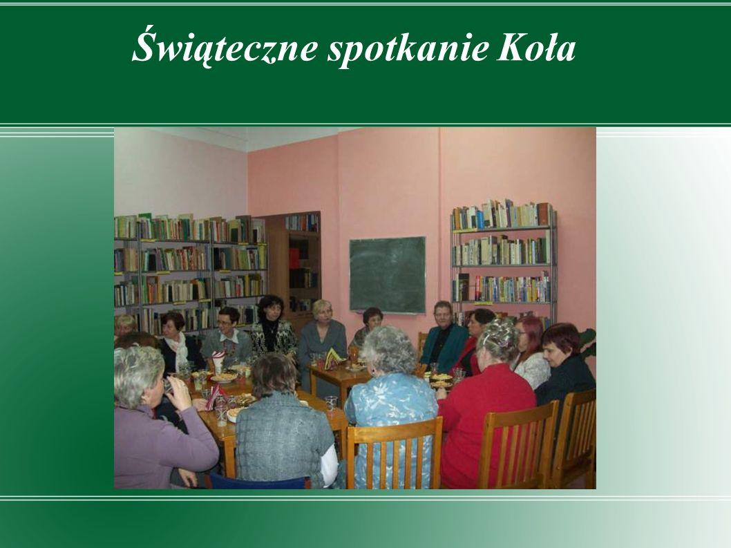 Spotkanie klasowe absolwentów VIII LO w Łodzi (biblioteka jako miejsce zbiórki przed wyjściem na miasto)