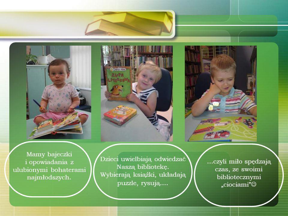 W swoich zbiorach posiadamy, także dział z wyodrębnionymi książkami religijnymi dla dzieci. Pomagają one przybliżyć najmłodszym, między innymi: Pismo