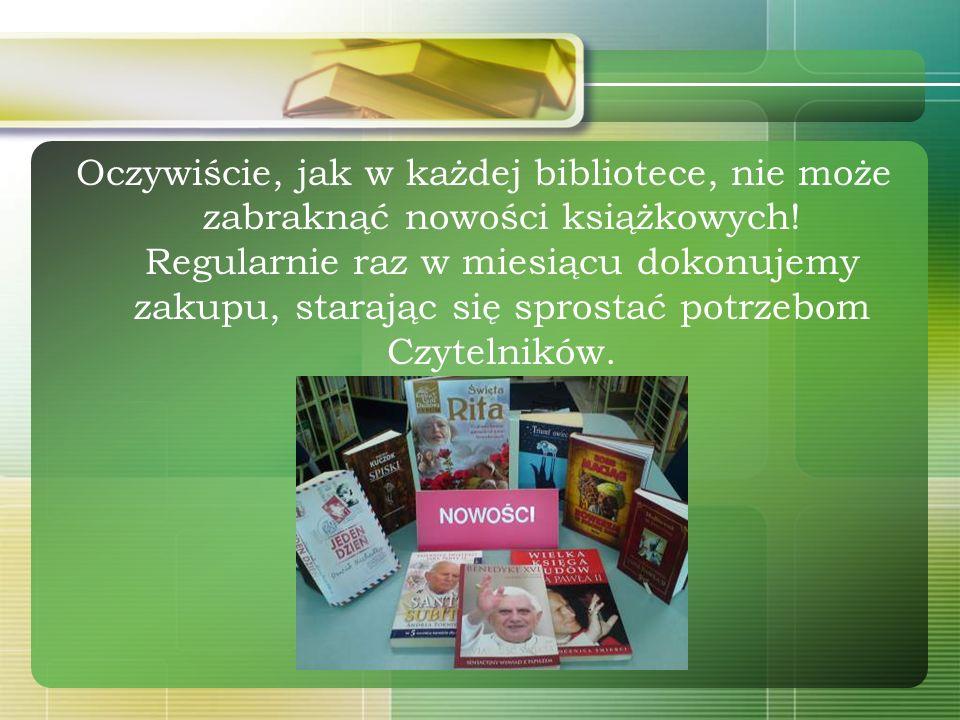 ...posiadamy książki z różnych dziedzin wiedzy: Geografii, Historii, Biografii, Literatury pięknej dla każdej kategorii wiekowej Matematyki i Nauk prz