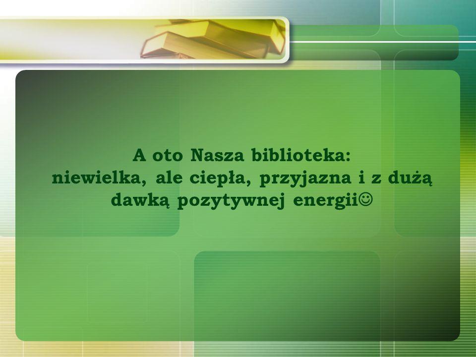 Dane autorów Anna Szprengiel: kierownik – starszy bibliotekarz Anna Wentlant-Świegocka – starszy bibliotekarz Miejska Biblioteka Publiczna Łódź-Polesie Filia 16 Biblioteka Katolicka Łódź, ul.