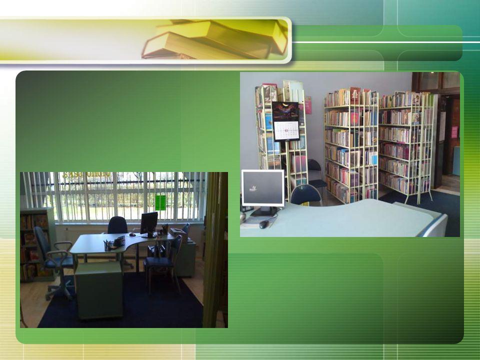 A oto Nasza biblioteka: niewielka, ale ciepła, przyjazna i z dużą dawką pozytywnej energii