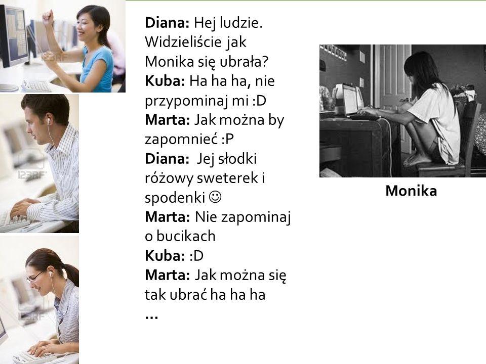 Monika Diana: Hej ludzie. Widzieliście jak Monika się ubrała.