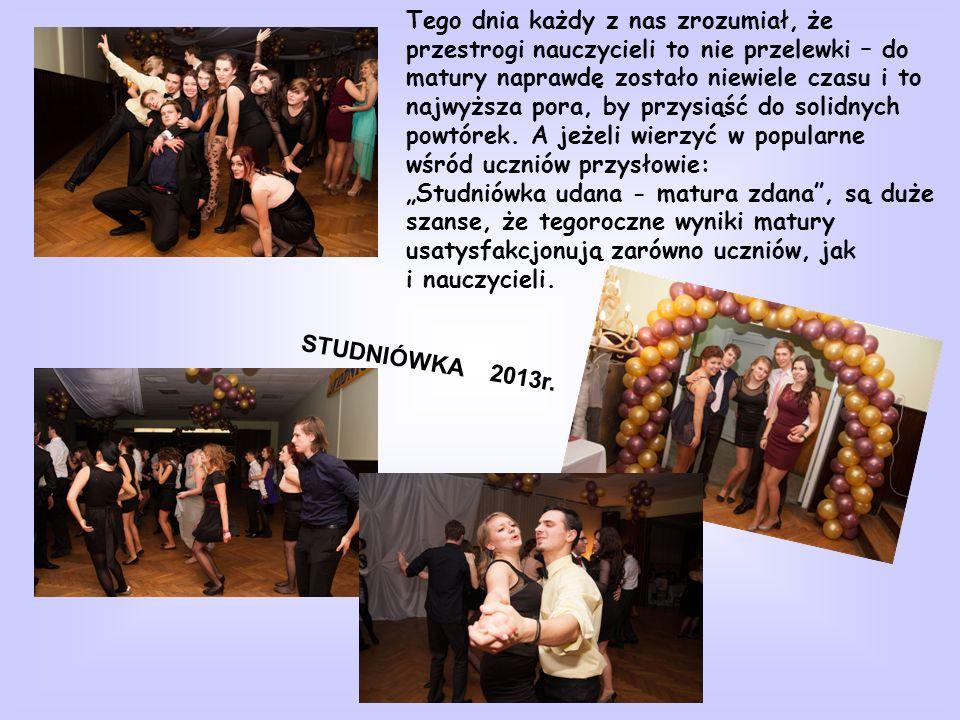 STUDNIÓWKA 2013r.