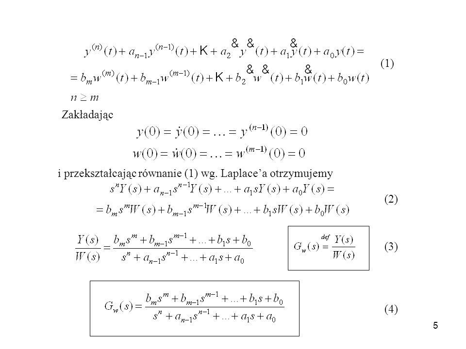 16 Trajektoria fazowa przebiegu drgającego tłumionego (układ stabilny) Trajektoria fazowa przebiegu drgającego z rosnącą amplitudą (układ niestabilny) x 1 = y