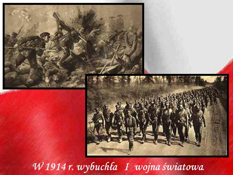 W 1914 r. wybuchła I wojna światowa.
