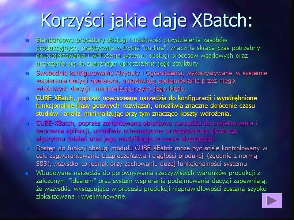 CUBE XBatch - Realizacja Recept