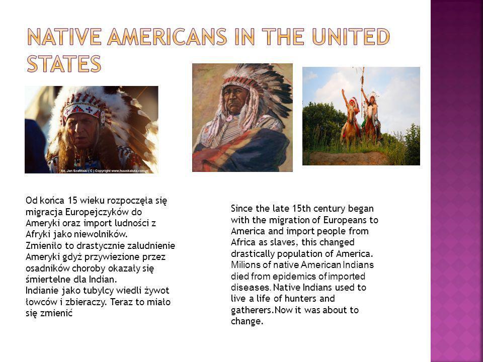 Od końca 15 wieku rozpoczęła się migracja Europejczyków do Ameryki oraz import ludności z Afryki jako niewolników. Zmieniło to drastycznie zaludnienie