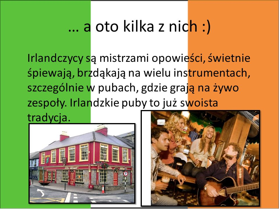 Dzień św.Patryka to najważniejsze święto w Irlandii.