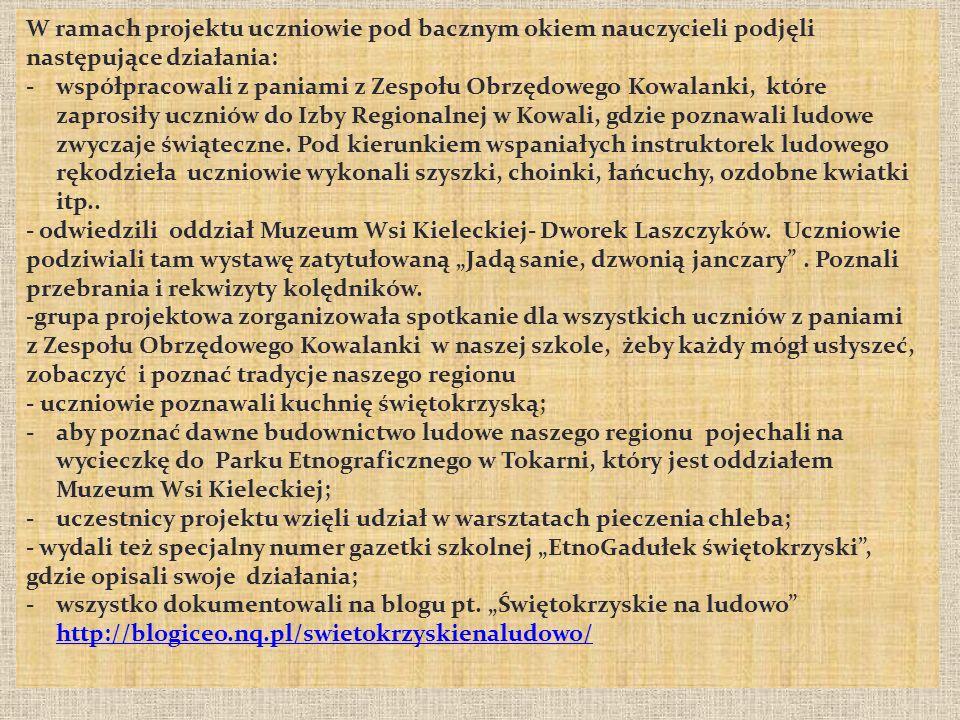 Uczestnicy: Agnieszka Durlik, Piotr Kopiński, Daniel Dobosz, Michał Stępień.