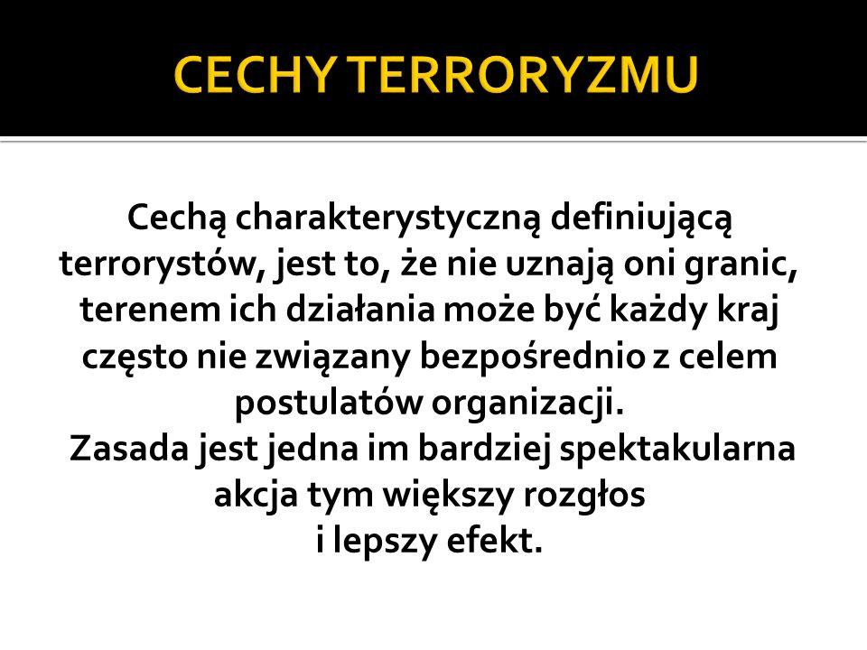 Terroryści zawsze chcą być nazywani określeniami zastępczymi typu wojownik, bojownik o wolność, mudżahadin, rzecznik ludu.
