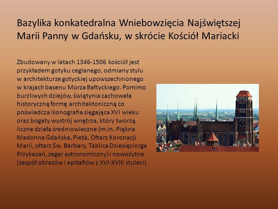 Kolegiata Świętego Krzyża i św.Bartłomieja we Wrocławiu Kościół powstał w XIII w.
