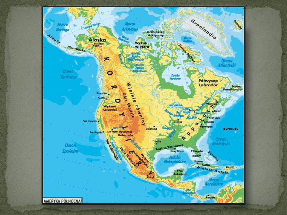 Pod względem wielkości Ameryka Północna jest trzecim (po Azji i Afryce) kontynentem na ziemi.