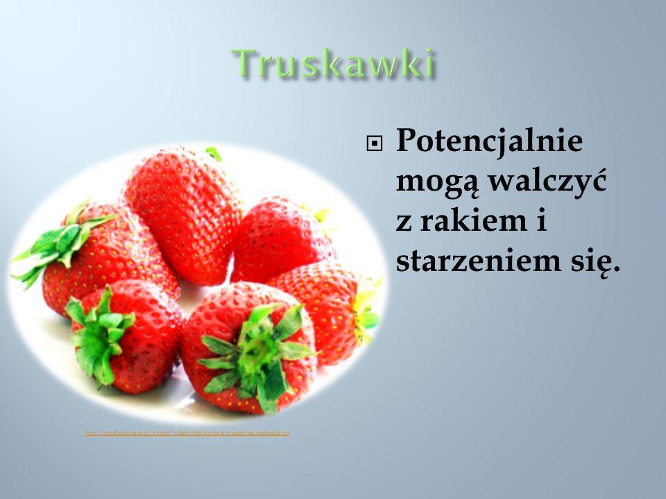 Potencjalnie mogą walczyć z rakiem i starzeniem się. http://gfx.dlastudenta.pl/photos/walentynki/kuchnia/truskawka_czekolada.jpg