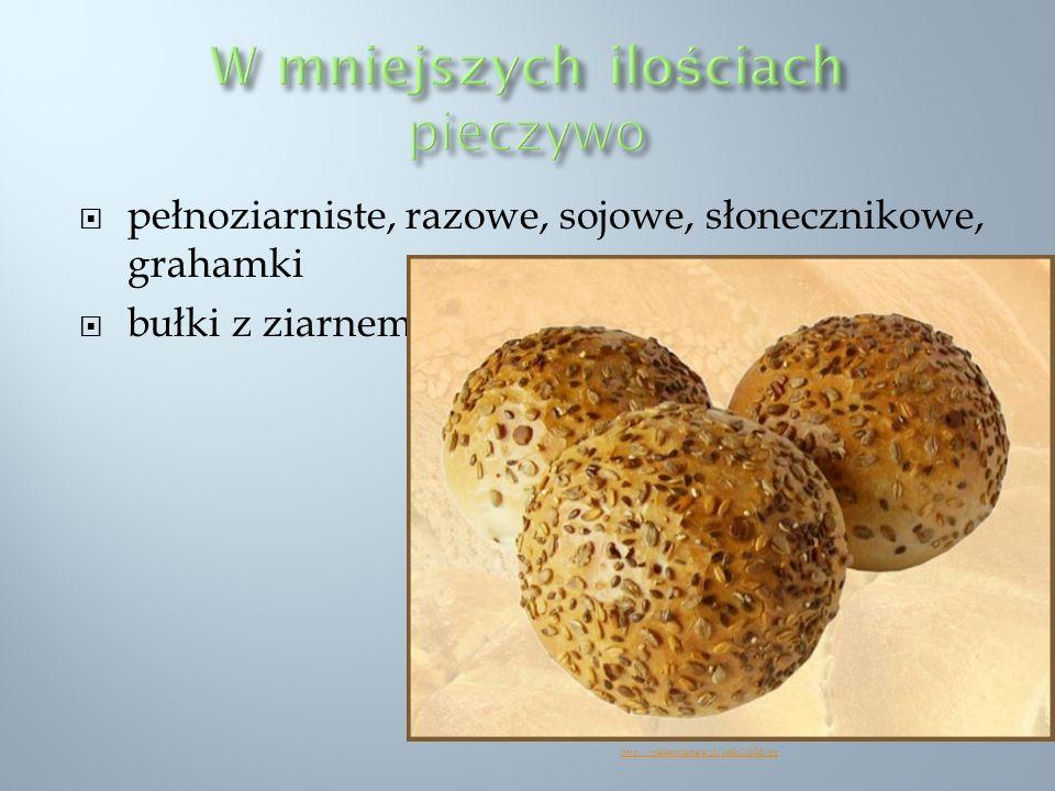 pełnoziarniste, razowe, sojowe, słonecznikowe, grahamki bułki z ziarnem http://piekarniamaja.pl/fotki/o35d.jpg