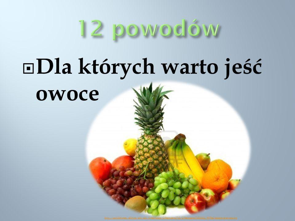 Dla których warto jeść owoce http://us.123rf.com/400wm/400/400/Cybernesco/Cybernesco0705/Cybernesco070500002/907542-kolorowe-owoce.jpg