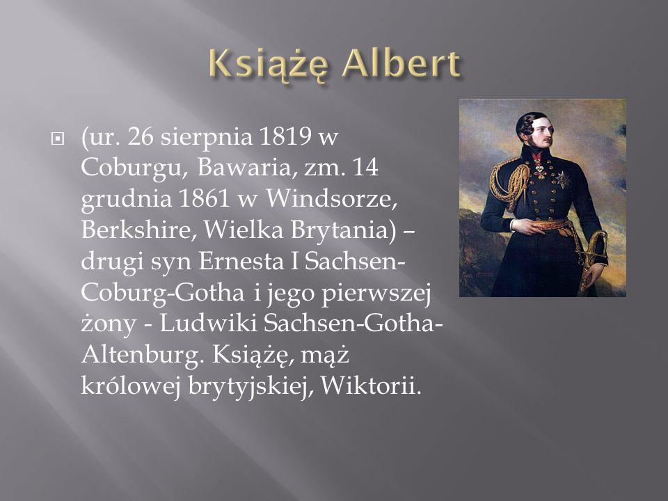 (ur. 26 sierpnia 1819 w Coburgu, Bawaria, zm. 14 grudnia 1861 w Windsorze, Berkshire, Wielka Brytania) – drugi syn Ernesta I Sachsen- Coburg-Gotha i j