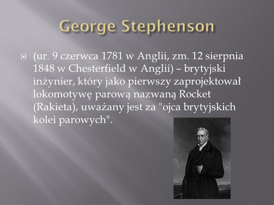 (ur. 9 czerwca 1781 w Anglii, zm. 12 sierpnia 1848 w Chesterfield w Anglii) – brytyjski inżynier, który jako pierwszy zaprojektował lokomotywę parową