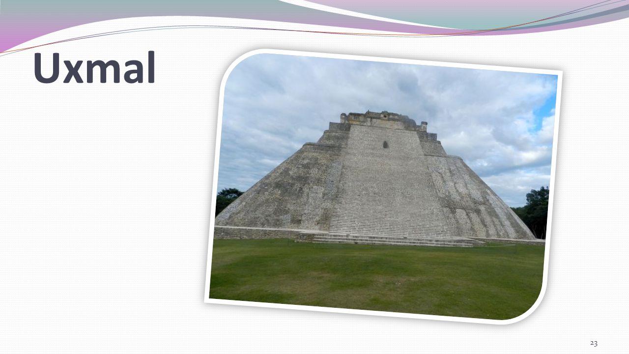 Uxmal Miasto Majów położone na terenie stanu Jukatan w Meksyku.