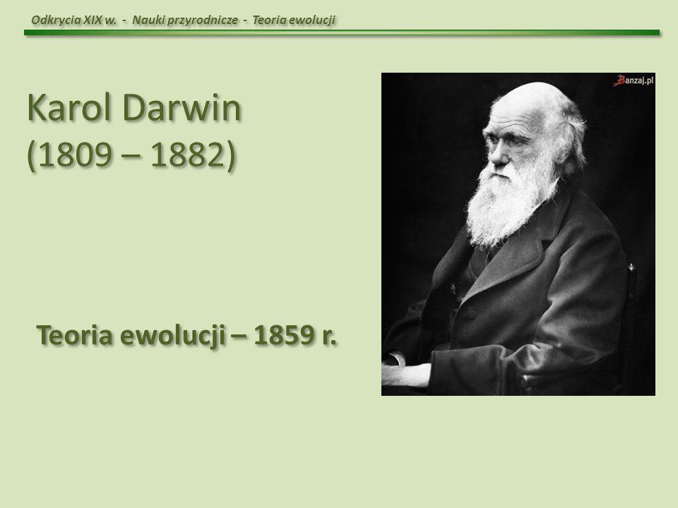 Odkrycia XIX w.