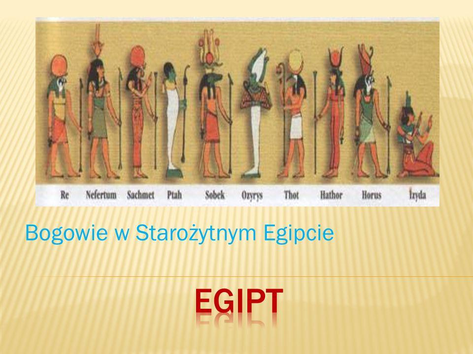 Bogowie w Starożytnym Egipcie