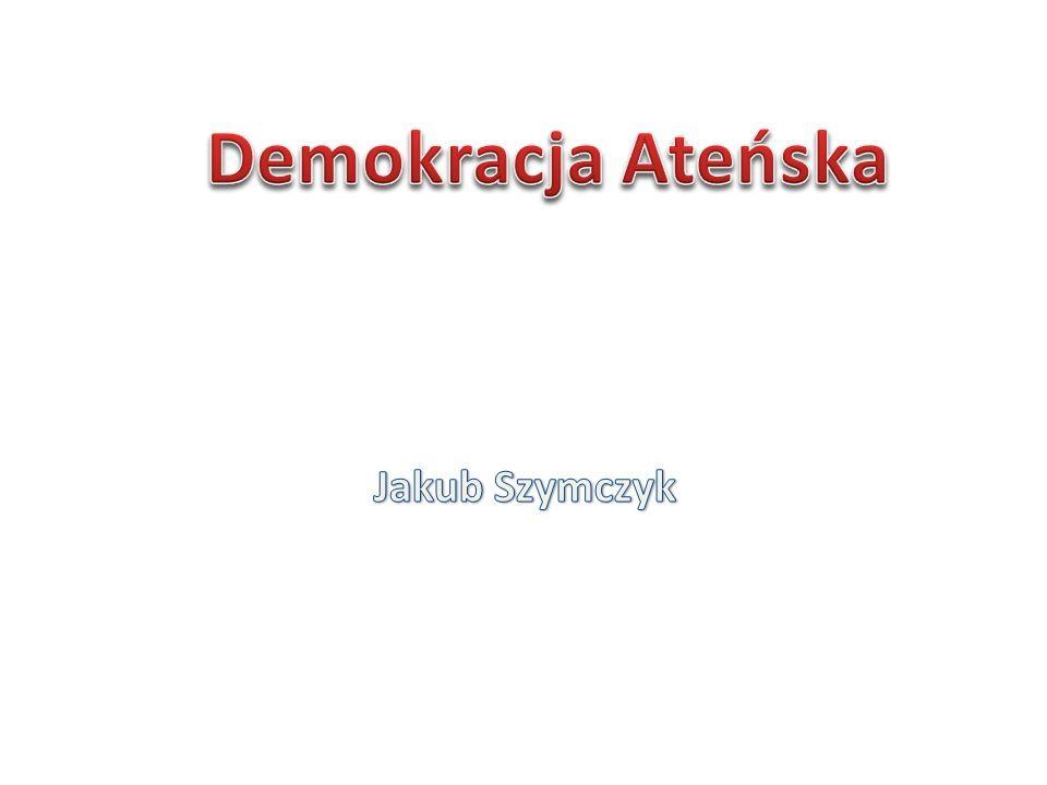 Bardzo ważnym organem w demokracji ateńskiej była Rada Pięciuset.