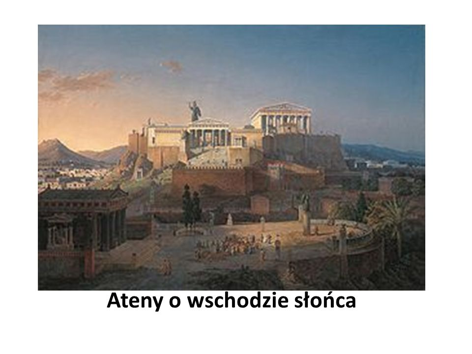 Ateny o wschodzie słońca