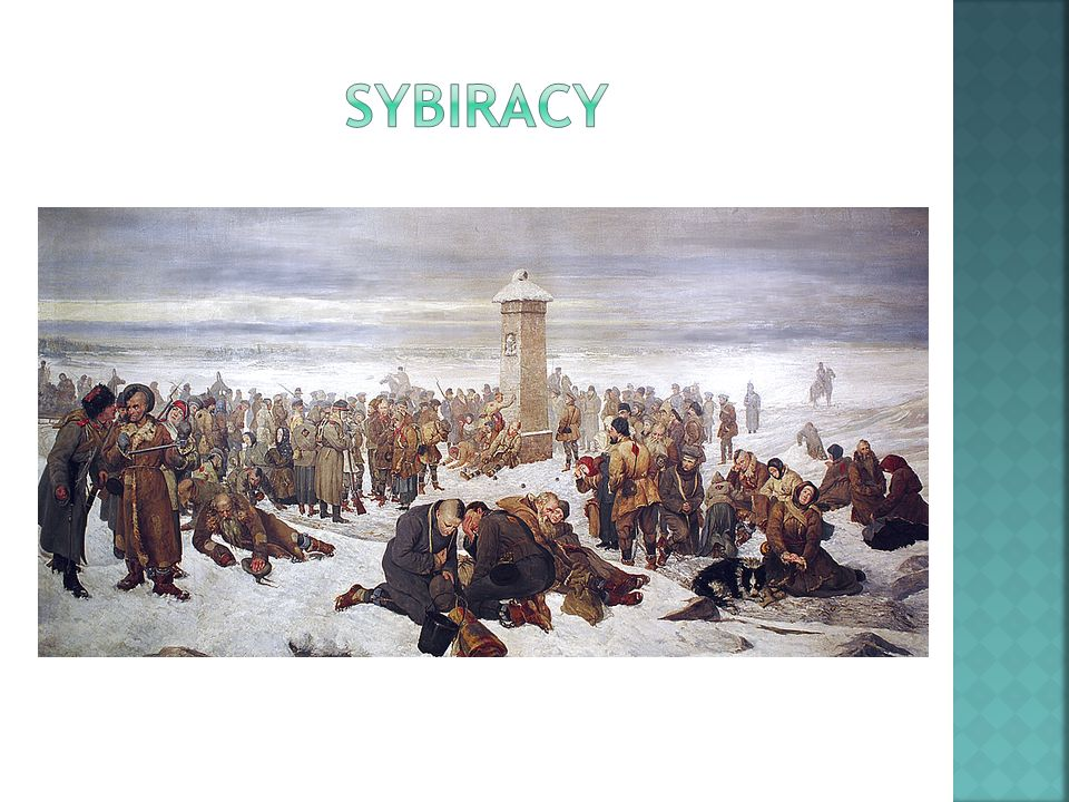 Sybiracy – w Polsce osoby zesłane na Syberię zarówno w carskiej Rosji jak i ZSRR.