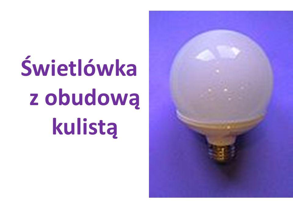 Świetlówka z obudową kulistą