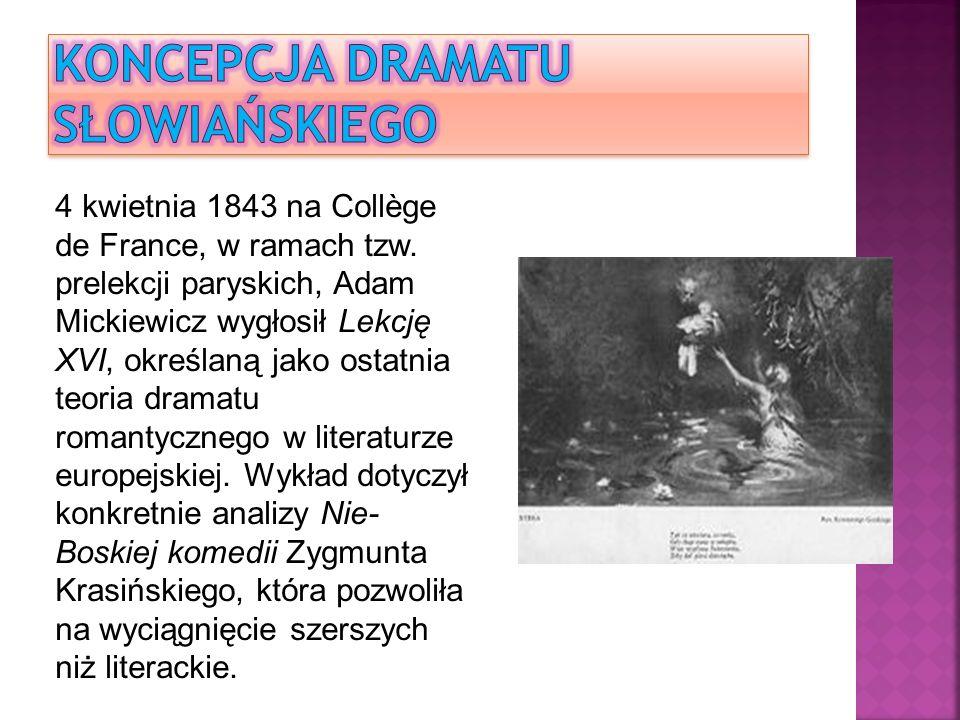 Powszechnie zwykło się uznawać Adama Mickiewicza za prawodawcę polskiego romantyzmu, szczegółowa analiza jego dzieł i postawy artystycznej wykazuje jednak pośrednictwo wieszcza między oświeceniowym klasycyzmem a romantyzmem.