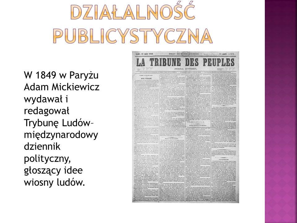 Adam Mickiewicz wcześnie zajął się działalnością przekładową. Już w 1817