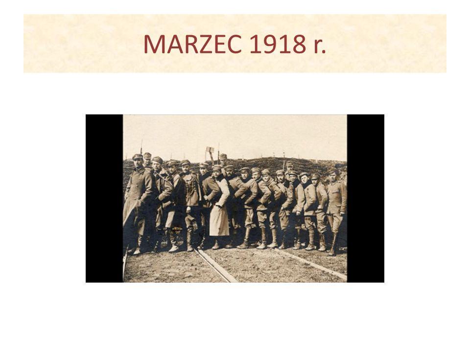 MARZEC 1918 r.