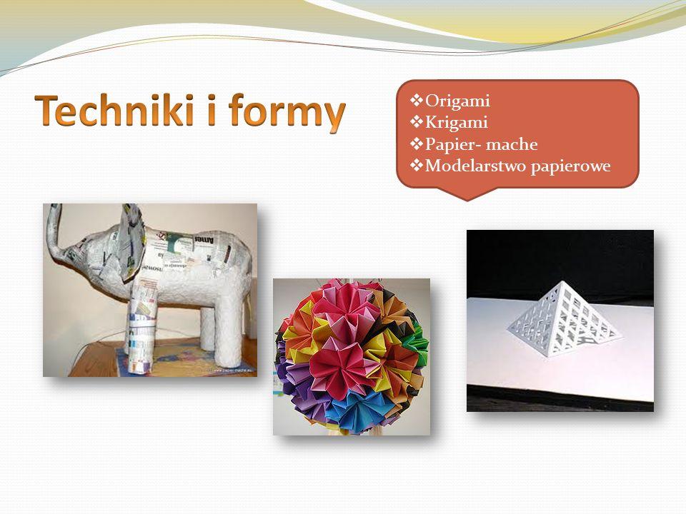 Origami Krigami Papier- mache Modelarstwo papierowe