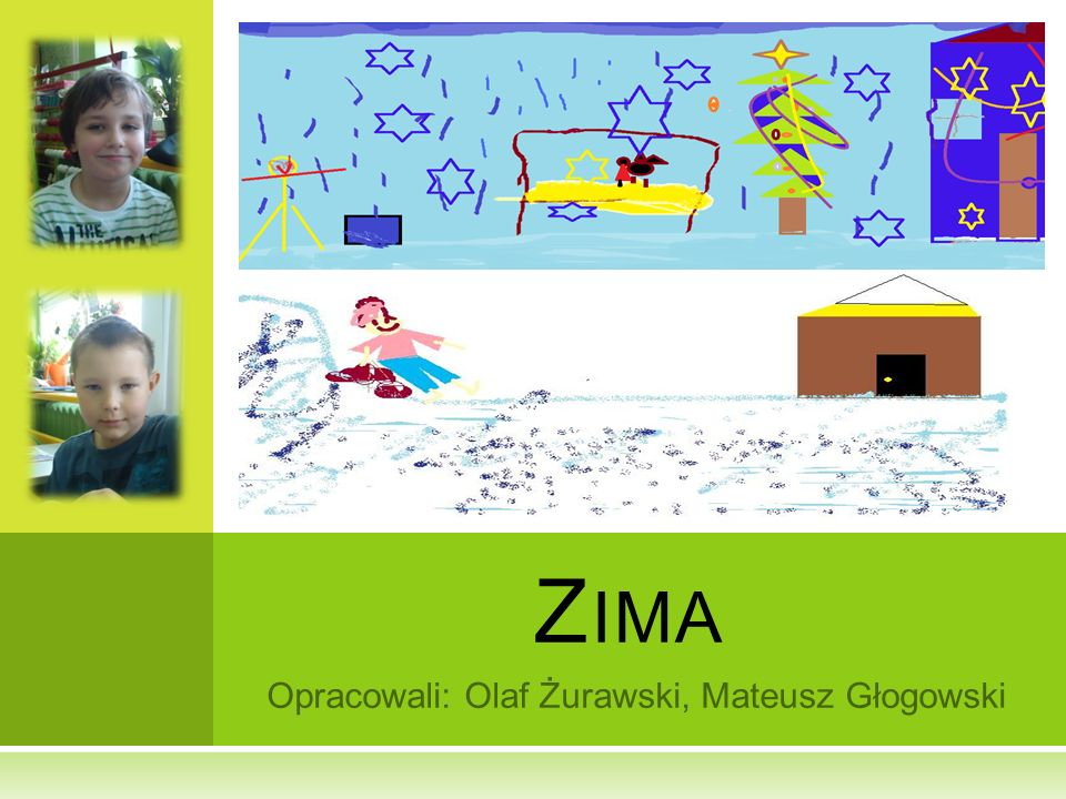 Opracowali: Olaf Żurawski, Mateusz Głogowski Z IMA