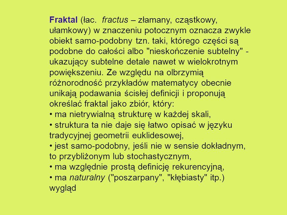Fraktal (łac.